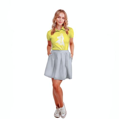 Женская рубашка поло 3D  Фото 04, Наруто