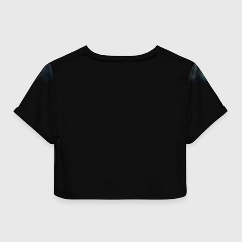 Женская футболка 3D укороченная  Фото 02, Рагнар