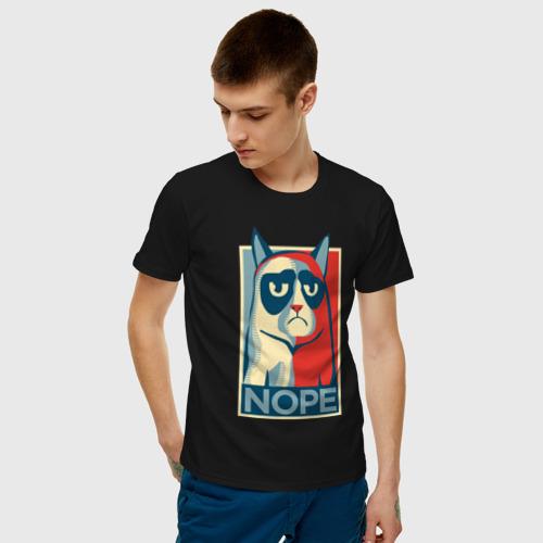 Мужская футболка хлопок Nope Фото 01