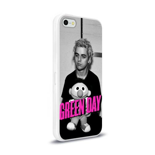 Чехол для Apple iPhone 5/5S силиконовый глянцевый  Фото 02, Green Day