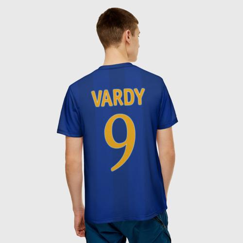 Мужская футболка 3D  Фото 02, Лестер Сити Leicester Vardy 9