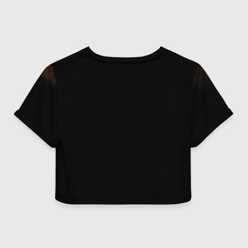 Женская футболка 3D укороченная  Фото 02, Vikings Рагнар Лодброк