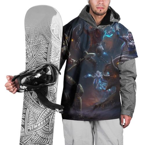 Накидка на куртку 3D  Фото 01, Dota 2