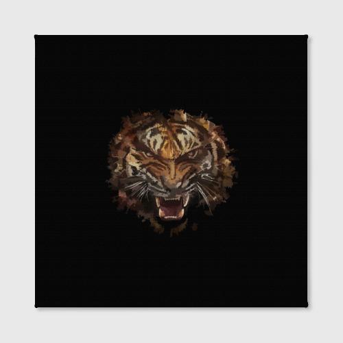 Холст квадратный  Фото 02, Тигр