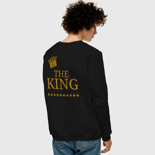 Мужской свитшот хлопок THE KING Фото 01