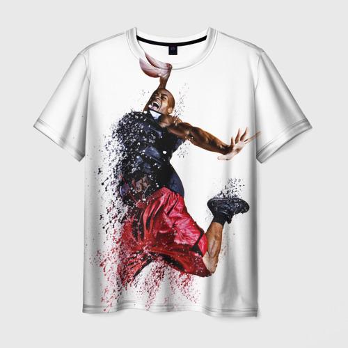 Мужская футболка 3D  Фото 01, Баскетбол