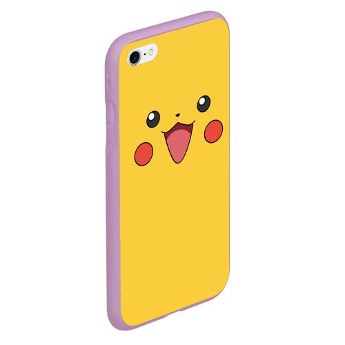 Чехол для iPhone 6Plus/6S Plus матовый Пикачу Фото 01