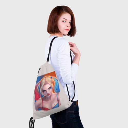 Рюкзак-мешок 3D  Фото 02, Харли Квинн