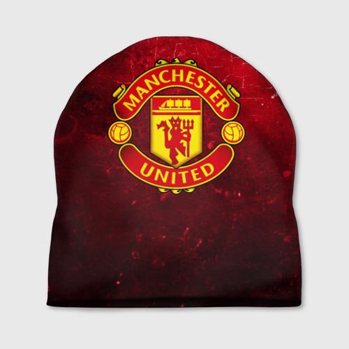 Шапка 3D Манчестер Юнайтед