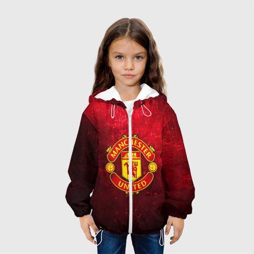 Детская куртка 3D  Фото 04, Манчестер Юнайтед