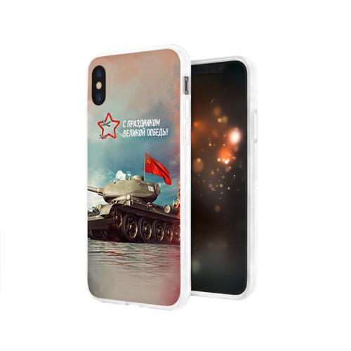 Чехол для Apple iPhone X силиконовый глянцевый  Фото 03, Великая победа