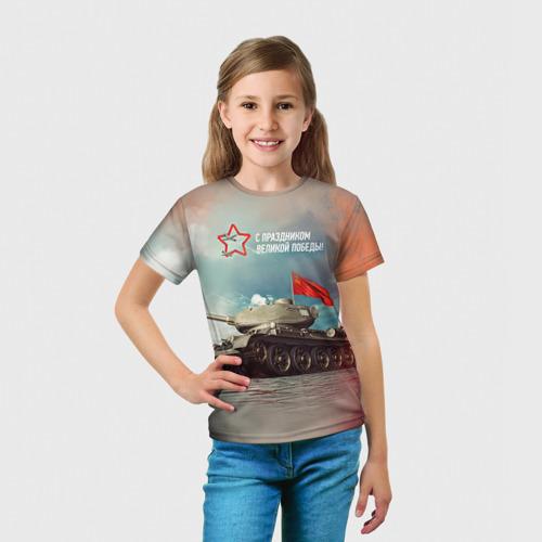 Детская футболка 3D  Фото 03, Великая победа