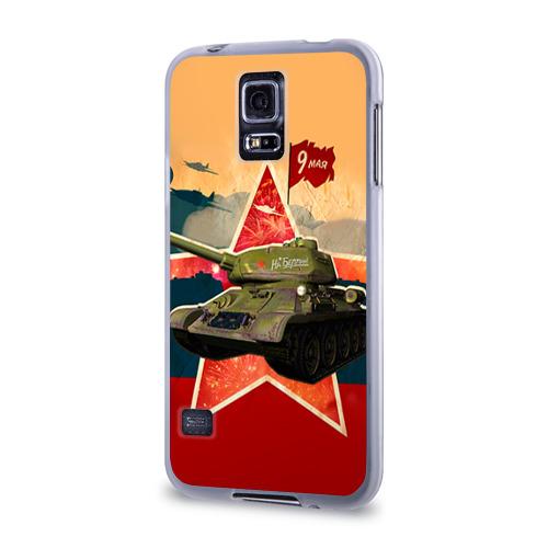 Чехол для Samsung Galaxy S5 силиконовый  Фото 03, На Берлин