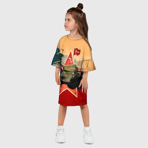 Детское платье 3D  Фото 03, На Берлин