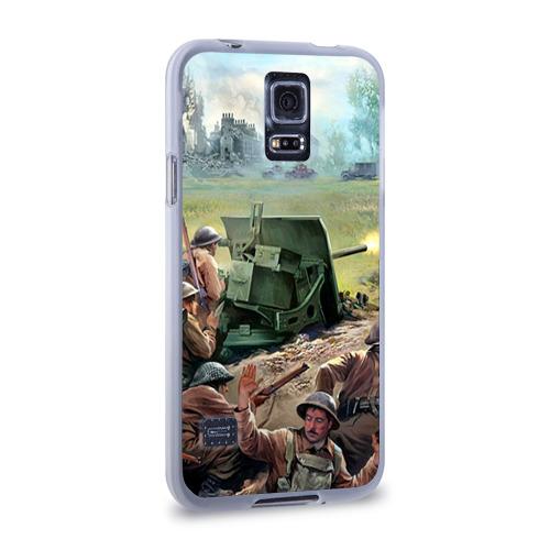 Чехол для Samsung Galaxy S5 силиконовый  Фото 02, Сражение