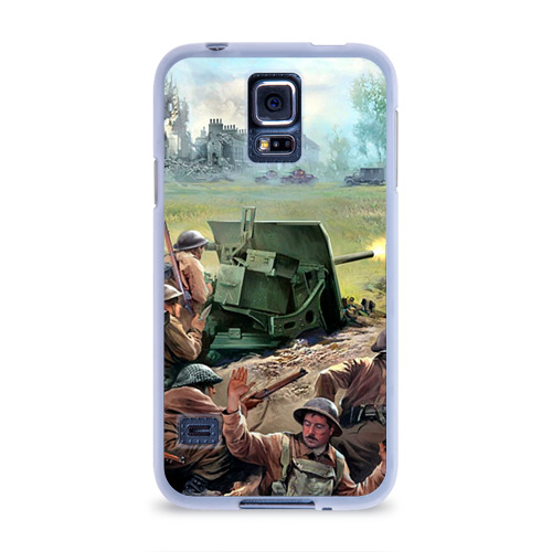 Чехол для Samsung Galaxy S5 силиконовый  Фото 01, Сражение