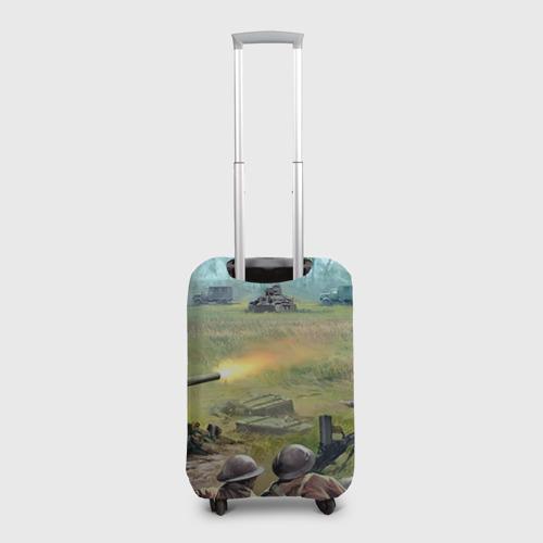 Чехол для чемодана 3D  Фото 02, Сражение