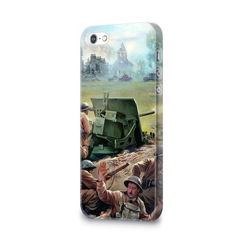 Чехол для Apple iPhone 5/5S 3D  Фото 03, Сражение
