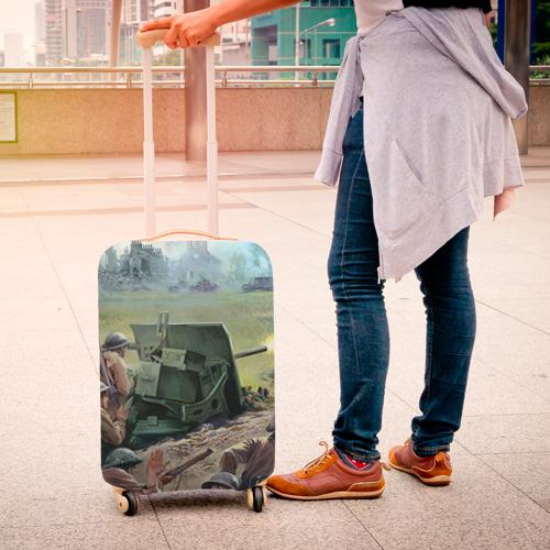 Чехол для чемодана 3D  Фото 04, Сражение