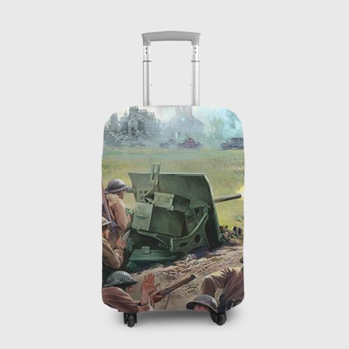 Чехол для чемодана 3D  Фото 01, Сражение