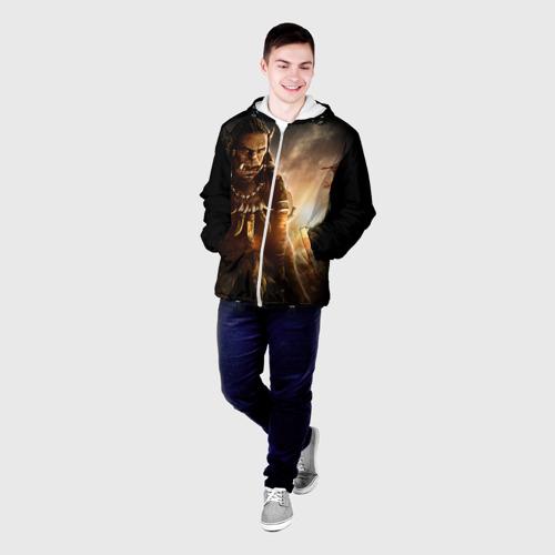 Мужская куртка 3D Варкрафт Фото 01
