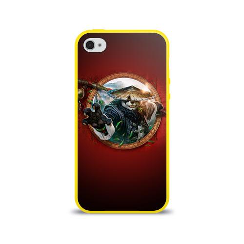Чехол для Apple iPhone 4/4S силиконовый глянцевый Варкрафт 2 Фото 01