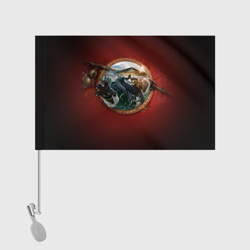 Флаг для автомобиля Варкрафт 2 Фото 01