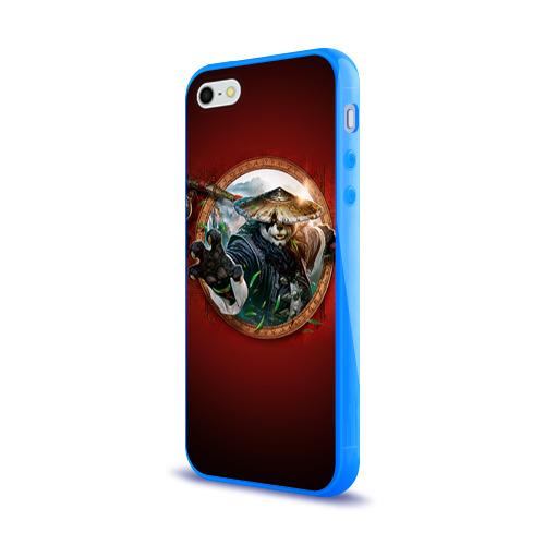 Чехол для Apple iPhone 5/5S силиконовый глянцевый Варкрафт 2 Фото 01