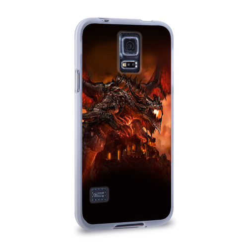 Чехол для Samsung Galaxy S5 силиконовый  Фото 02, Варкрафт 7
