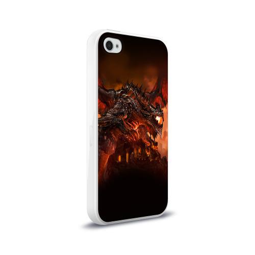 Чехол для Apple iPhone 4/4S силиконовый глянцевый  Фото 02, Варкрафт 7