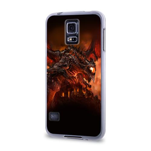 Чехол для Samsung Galaxy S5 силиконовый  Фото 03, Варкрафт 7
