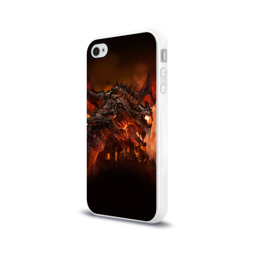 Чехол для Apple iPhone 4/4S силиконовый глянцевый  Фото 03, Варкрафт 7
