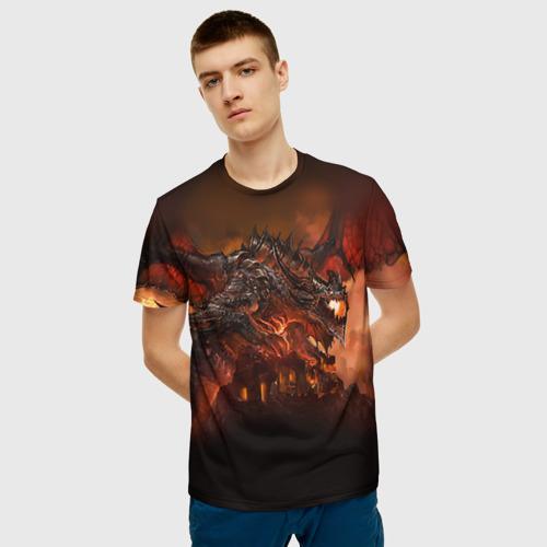 Мужская футболка 3D Варкрафт 7 Фото 01