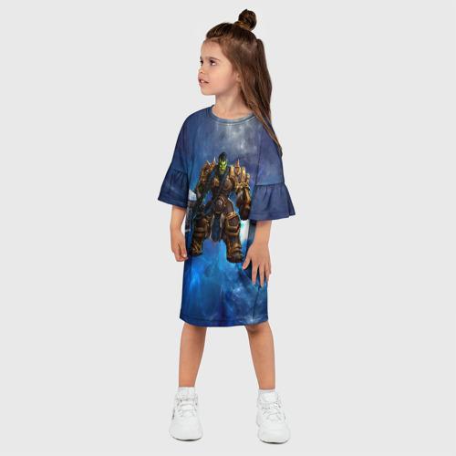Детское платье 3D  Фото 03, Варкрафт 21