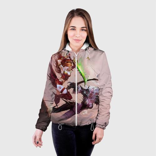 Женская куртка 3D  Фото 03, Варкрафт 26