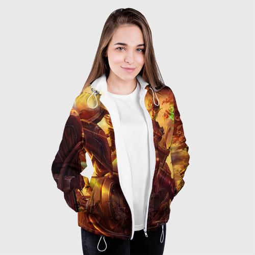 Женская куртка 3D Варкрафт 27