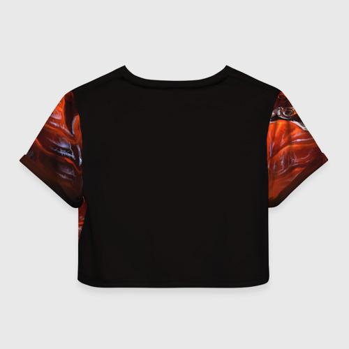Женская футболка 3D укороченная  Фото 02, Варкрафт 28