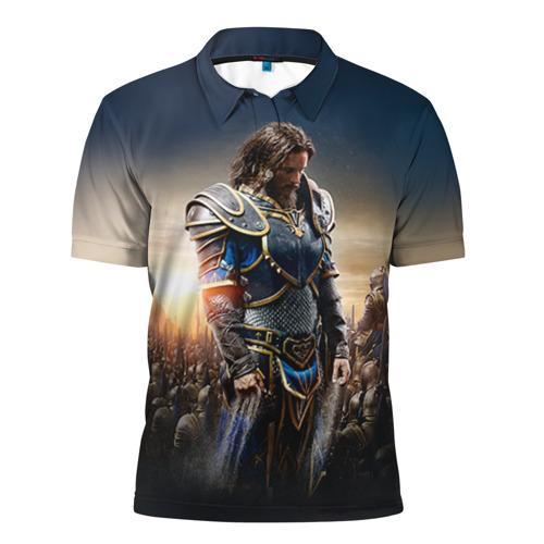 Мужская рубашка поло 3D  Фото 01, Варкрафт  29