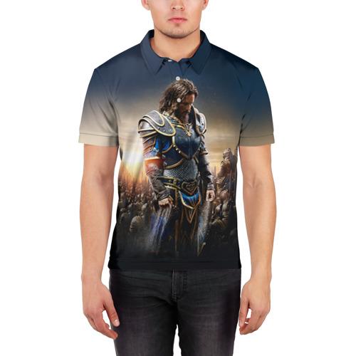 Мужская рубашка поло 3D  Фото 03, Варкрафт  29