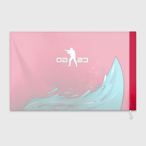 Флаг 3D  Фото 02, Water Elemental cs go