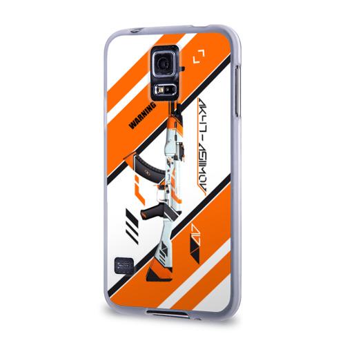 Чехол для Samsung Galaxy S5 силиконовый  Фото 03, Ak47-Asiimov