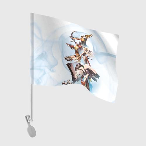 Флаг для автомобиля Overwatch Фото 01
