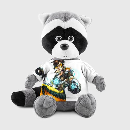 Енотик в футболке 3D Overwatch 2 Фото 01