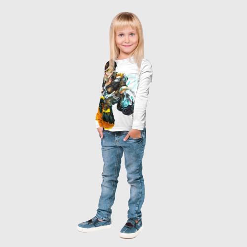 Детский лонгслив 3D Overwatch 2 Фото 01