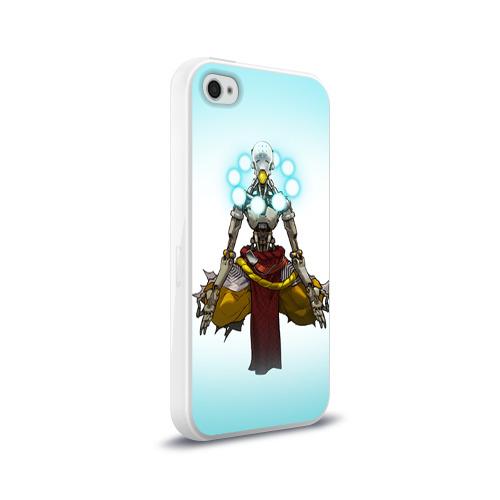Чехол для Apple iPhone 4/4S силиконовый глянцевый  Фото 02, Overwatch 3