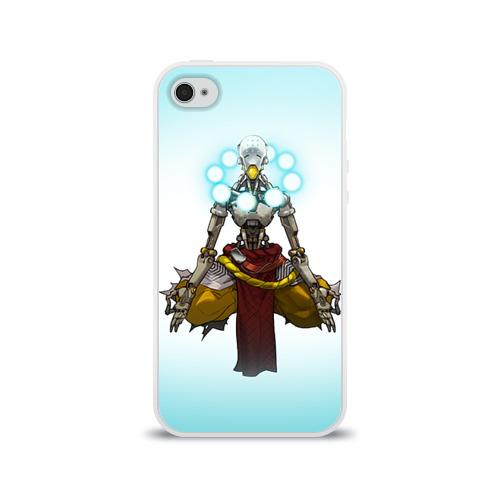Чехол для Apple iPhone 4/4S силиконовый глянцевый  Фото 01, Overwatch 3