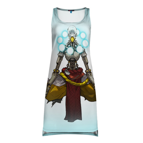 Платье-майка 3D  Фото 01, Overwatch 3