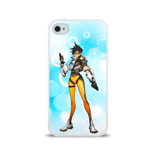 Чехол для Apple iPhone 4/4S силиконовый глянцевый  Фото 01, Overwatch 4