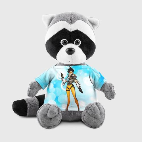 Енотик в футболке 3D Overwatch 4 Фото 01