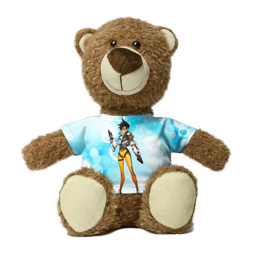 Миша в футболке 3D Overwatch 4 Фото 01